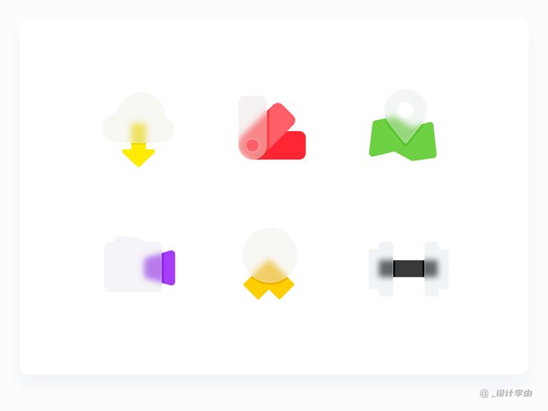 Icon collection V.013 bigsur google design google branding illustration design ui icon sketch