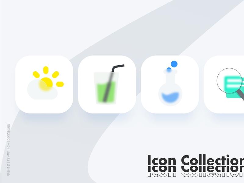 Icon collection V.016-Fluent fluent illustration social icon ui sketch