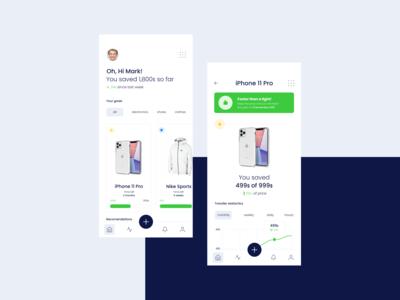 Goals App Concept