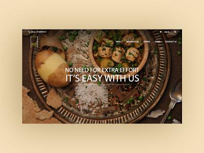 Diet To Door website design website ux ui eat web design web deliver diet to door diet food