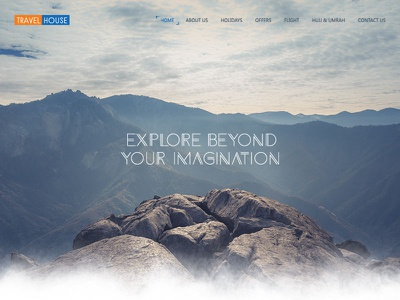 Travelhouse explore design ux ui web web design travel app travelhouse travel agency travel