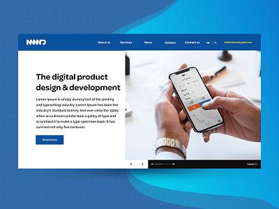 Moselay Media Development corporate website corporate web website web design ux design ui