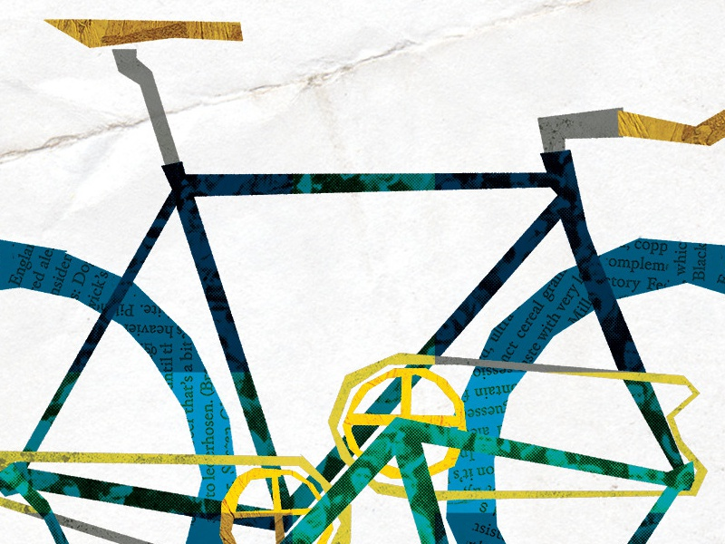 bicycle[s] bicycle texture illustration