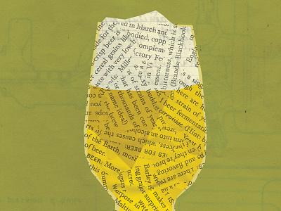 hoppy IPA day! ipa illustration texture beer