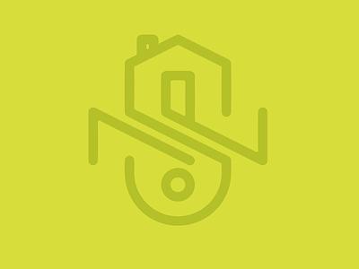 neighborhood organization logo house neighborhood branding logo