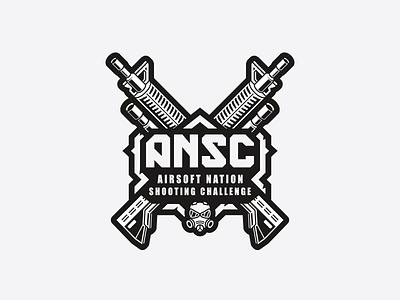 ANSC mascot paintball gun guns weapon airsoft