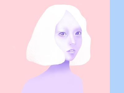 Digital illustration Nº2 digital human pastel painting wacom illustration