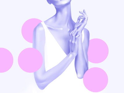 Digital Illustration Nº5 wacom photoshop people pastel illustration figurative digital colors