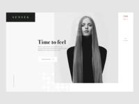 Sense6 Fashion Website Design