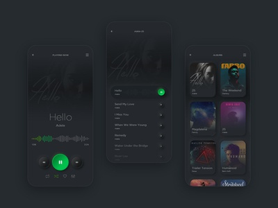 Music App - Neumorphism