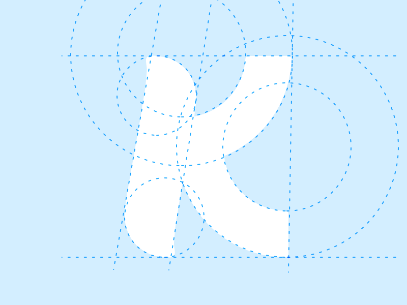 Kindrid K k icon logo