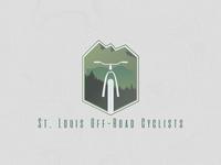 STL MTB st louis mtb mountain bikes logo design