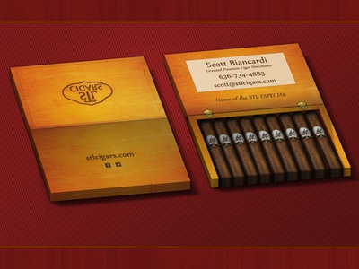 Cigar Co Business Card