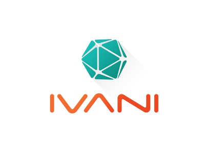 Icosahedron Flat Long Shadow Logo logo logo design brand graphic design illustrator branding