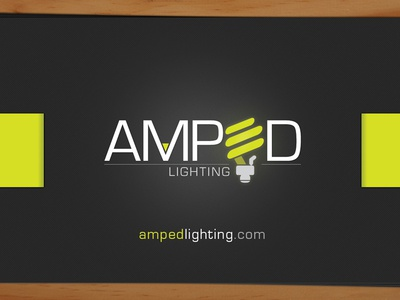 amped business cards by michael meininger dribbble