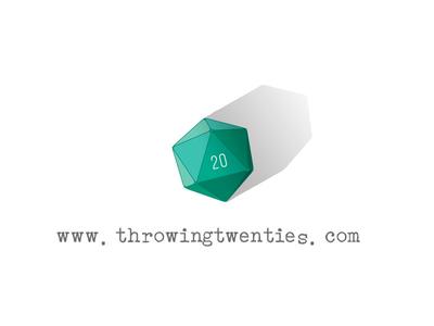 Throwing Twenties logo | My Nerdy Blog