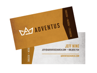Adventus Business Cards