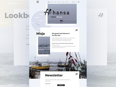 Hansa Wear - Landing Page WIP