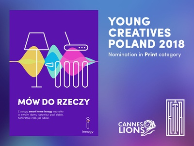 Young Creatives Cannes  - Nominated Poster