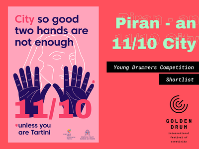 Golden Drum 25: Young Drummers - Shortlisted Poster #1