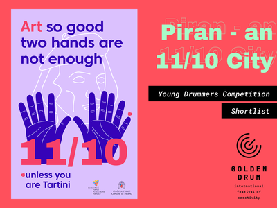 Golden Drum 25: Young Drummers - Shortlisted Poster #2