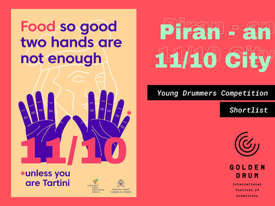Golden Drum 25: Young Drummers - Shortlisted Poster #3