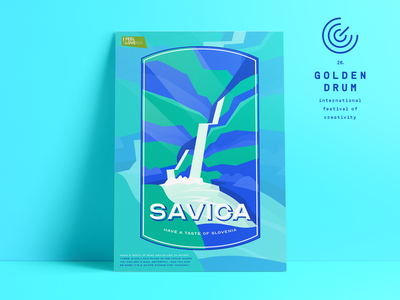 HAVE A TASTE OF SLOVENIA #3 young drummers vector typography slovenia poster illustration graphicdesign graphic golden drum design culture