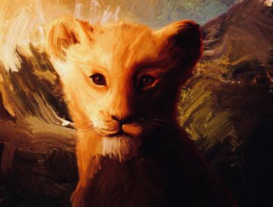 lion king - art