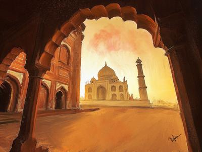 Taj Mahal retouch