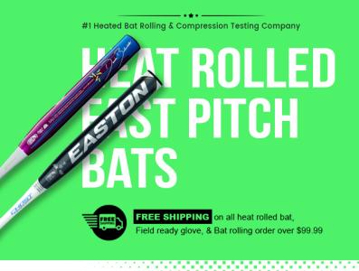 Heat rolled bats