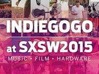Indiegogo at SXSW 2015 Lockup