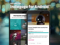 Indiegogo for Android