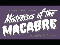 Mistresses of the Macabre Title Card