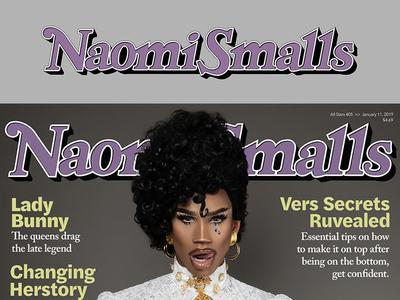 Naomi Smalls Rolling Stone Logo (Prince Tribute)