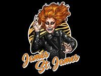 James St. James Transformations T-shirt design