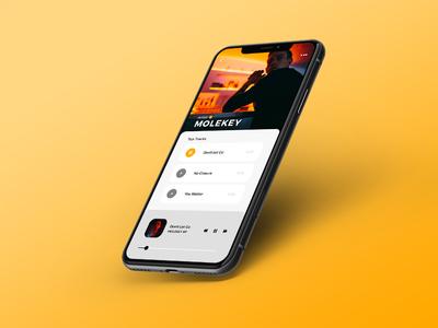 Music App Design 1 - InVision Studio