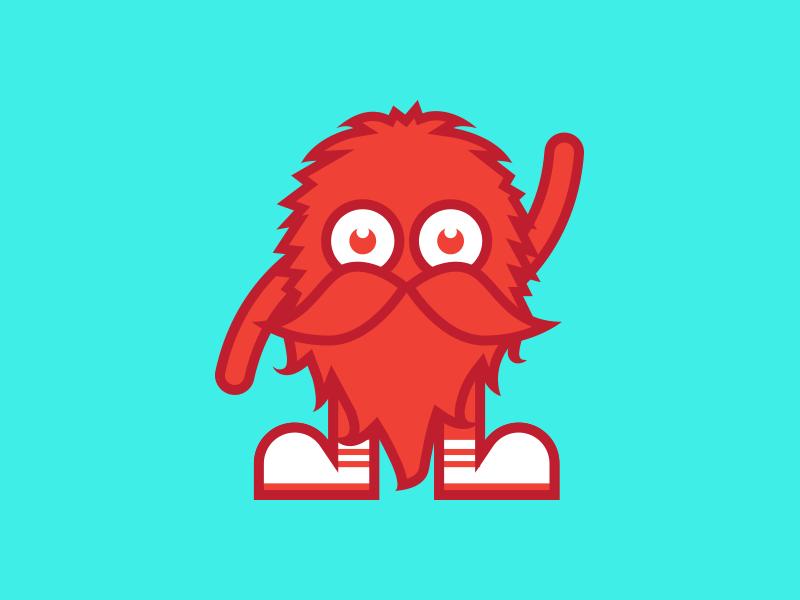 Mascot Illustration illustration beard furry hairy fun cute character mascot vector illustration vector art vectorart vector adobe illustrator adobe illustrator