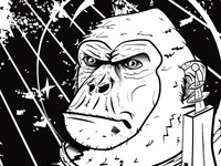 Devolve Monkey Poster