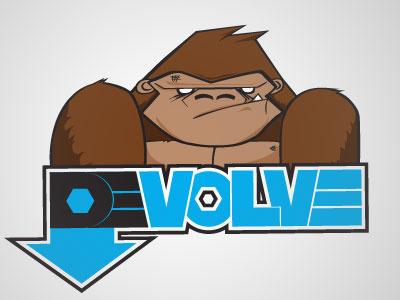 Gorilla branding logo typography illustration design graphicdesign