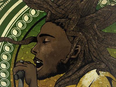 Reggae Poster Contest music design poster illustration graphicdesign