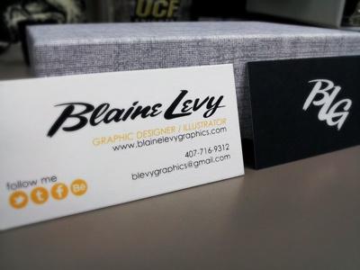 BLG Business Cards cards screen print logo branding deisgn
