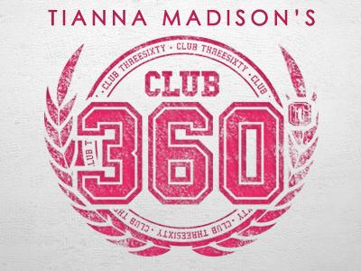 Tianna Madison's Club 360 web london charity logo athlete olympics design branding tianna madison 2012 logo design outreach tianna olympian madison olympic club