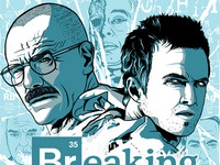 Breaking Bad Screen Print Freebies
