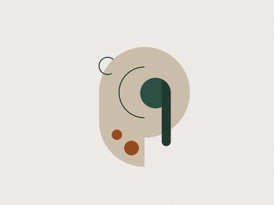 Mindful Listening Exercise meditation calm ear minimalist music headphone earphones mindfulness berlin 2d illustration