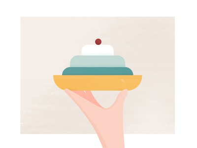 Table manners for eating soft desserts waiter cakery foodie cakes vector food illustration character hand eat eating table manners texture cake food 2d illustration