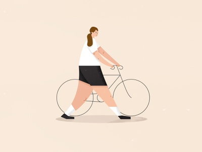 I #choosecycling rapha biker berlin cyclists lady character woman bicycle bike cyclist cycling