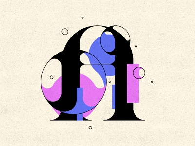 A distortion type design bubble type bubbles typography 36daysoftype
