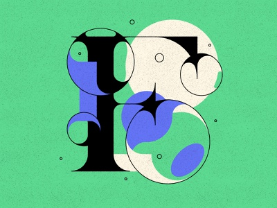 F bubble type bubbles f typogaphy type design type 36days 36dayoftype
