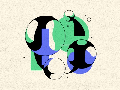 G letters bubble type typography type bubbles 36daysoftype 36days