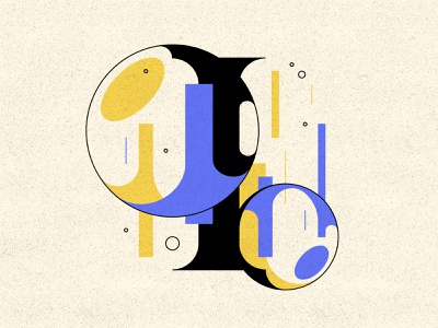 I i typography type bubble type letters 36daysoftype 36days
